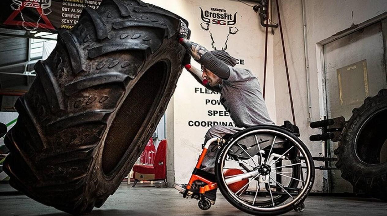 Entrenamiento para personas con discapacidad