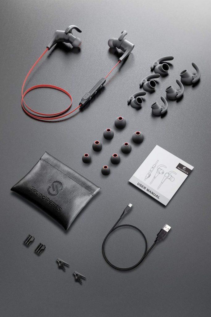 Auriculares inalámbricos Q12 para hacer ejercicio.