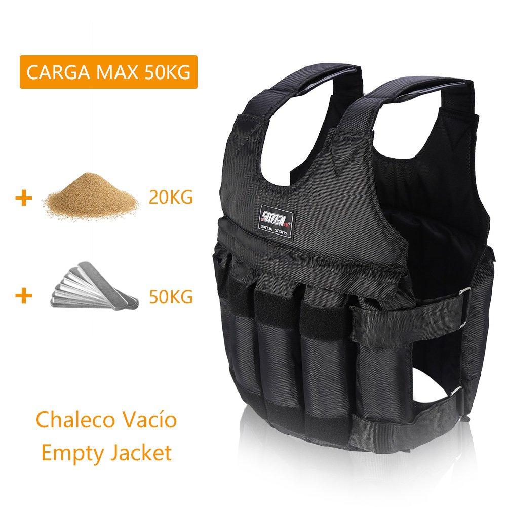 Chaleco con Peso de 20 kg Ajustable Teekit