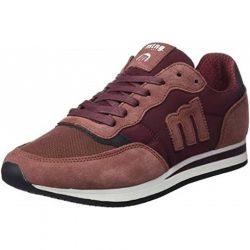 zapatillas mustang rojas